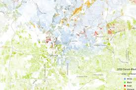University Of Miami Map by How Segregated Is Atlanta This Race Map Reveals The Truth