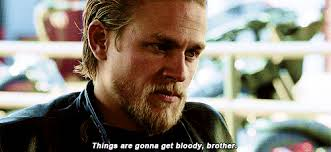 Jax Teller Memes - jax teller tells the club things are gonna get bloody for samcro on