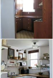 remodeling old kitchen cabinets before and after customed cabinet door in this kitchen