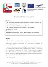 Cv Skills And Attributes Cv And Appletter Lesson Script