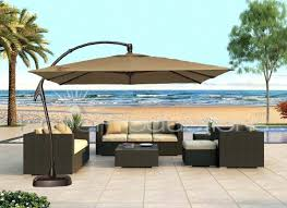 Replacement Patio Umbrella Canvas by Furniture Beige Patio Umbrella Amt Adjustable Offset Cantilever