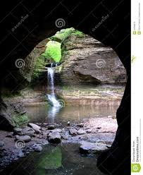 Matthiessen State Park Trail Map by Matthiessen State Park Stock Images Image 12596974