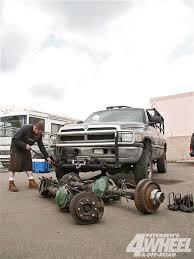 1994 dodge ram 1500 transmission backyard 1 ton dodge ram axle conversion 4 wheel road magazine