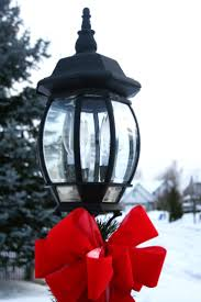 Outdoor Christmas Decorations Lamp Post by 129 Best Lamp Posts Images On Pinterest Winter Snow Winter And