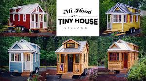 tumbleweed house tiny house village 20 homey ideas mt hood tiny house village