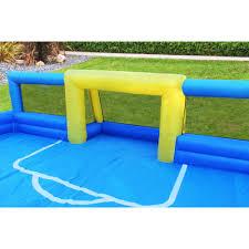 sportspower inflatable soccer field with 2 soccer goals walmart com