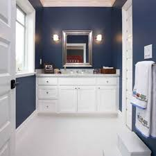 navy blue bathroom ideas bathroom ideas with navy blue walls cool