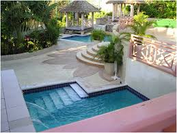 small backyard pool landscaping home outdoor decoration