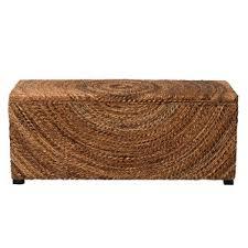 Wood Bench With Storage Modern Storage Benches Allmodern