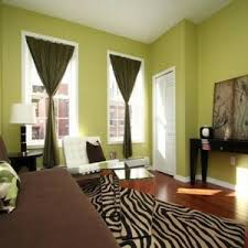 best color for small rooms living room with sage green walls and