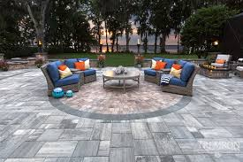 Stone Patio Pavers by Stone Texture Exterior Design Terrific Tremron Pavers For Your