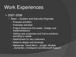 Network Security Engineer Resume Sample by Cv For It Security U0026 Information Security U0026 Network Security