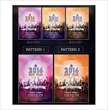 14 new year poster templates u2013 free psd eps ai illustrator