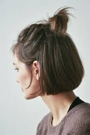 short haircuts when hair grows low on neck 20 best half up half down images on pinterest half bun casual