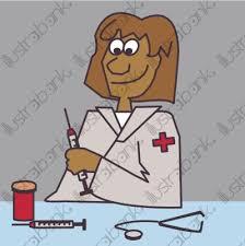 dessin humoristique travail bureau docteur médecin bureau travail métier femme illustration profession