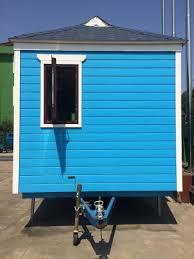 2017 popular prefab tiny house on wheels mobile workshop trailer