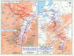 Germany Ww2 Map by Map Of German Offensive In Alsace Lorraine January February 1945