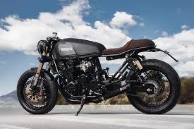 black honda motorcycle back in black adhoc cafe racers cb750 return of the cafe racers
