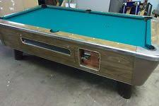 used valley pool table coin operated pool table ebay