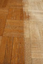 to clean parquet floors