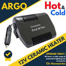 plug in car fan 150w 12v ceramic car fan heater caravan portable plugin demister