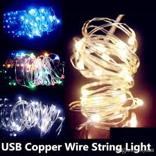 rgb led christmas lights sale 10m 33ft 100 led 5v usb operated warm white rgb led copper wire