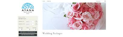 Wedding Packages Jimbaran Hotel Wedding Packages Bali Wedding Blog