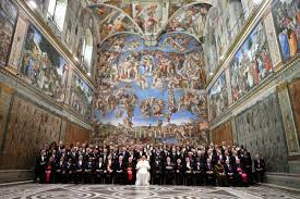 sistine chapel photographed in unprecedented detail the local