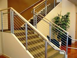 Metal Stair Banister Cable Railing