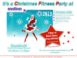 Workout Christmas Gifts Christmas Fitness Party Sarah J Hackett
