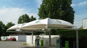 Uk Canopy Tent by Car Wash Station Shelter Stretched Fabric Shelter Manufacturer