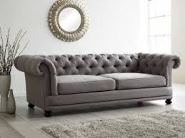 Leather Button Sofa Button Back Sofa Foter