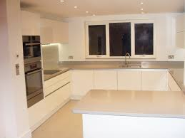 Gloss White Kitchen Cabinets German Style Gloss White Handless Kitchen Kitchens Pinterest