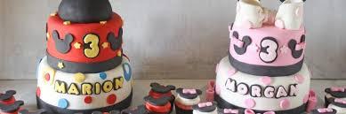 mickey minnie mouse birthday cakes u0026 cupcakes boy u0026 twins