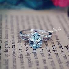 Aquamarine Wedding Rings by Wedding Rings Aquamarine Wedding Rings Marvelous Diamond And