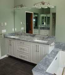 standard bathroom vanity height with vessel sink with contemporary