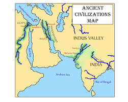 Ancient India Map Glimmercat Our Free Indus River Valley Mini Activity Packet