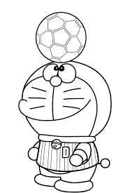 doraemon colouring pages kids magician doraemon coloring