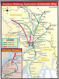 Calcutta India Map by Kolkata Abn397