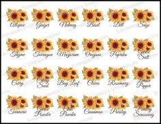 sunflower kitchen canisters vintage shabby sunflower kitchen canister or spice set waterslide