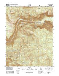 Topography Map El Capitan Quadrangle Topographic Map 2015