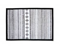 buy aztec cotton rug buy black and white cotton rug vliving