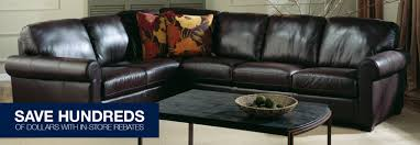 Palliser Juno Leather Sectionals The Great Escape