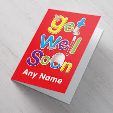 get well soon cards personalised get well soon card aid from 99p