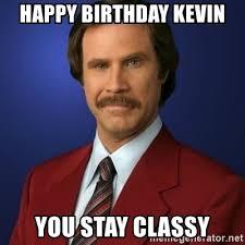 happy birthday kevin meme mne vse pohuj