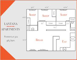 floor plans lantana apartments austin texas