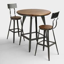 Bar Table And Stool Industrial Furniture Rustic Industrial Chic Furniture World