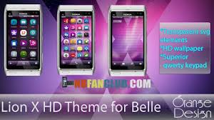 download themes for nokia e6 belle lion x hd theme nokia n8 808 pure view symbian belle free