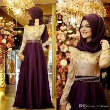 evening dress online shop elegant muslim long sleeves women