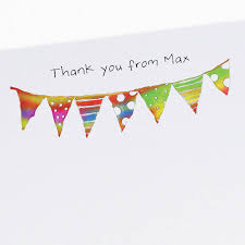 personalised children s thank you cards by this is nessie
